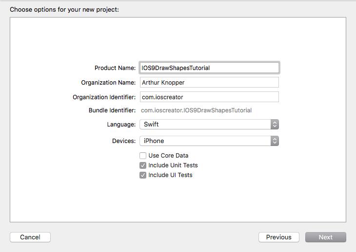 Drawing Lines Xcode : 使用 core graphics 绘制基本形状 为程序员服务